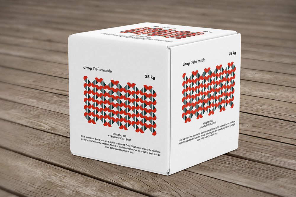 3D Box Packaging Mockup