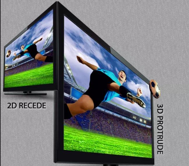 3D TV Mockup