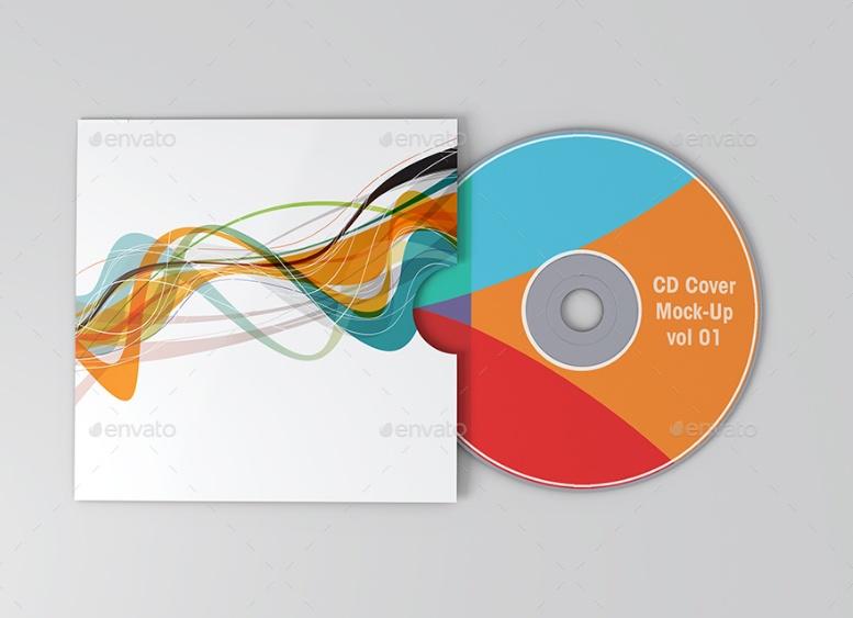 9 PSD Cover Mockup PSD