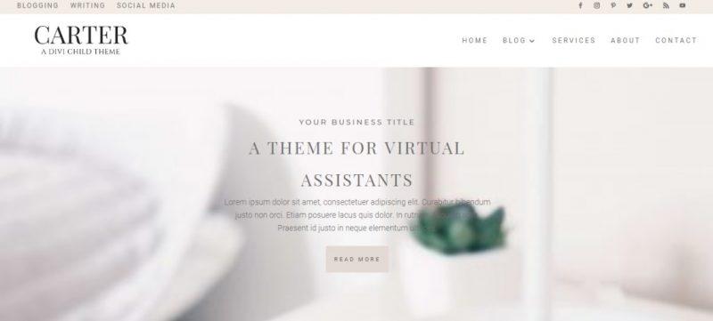 Clean Responsive WordPress Theme