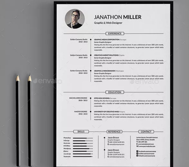 Clean and Professional Resume Template