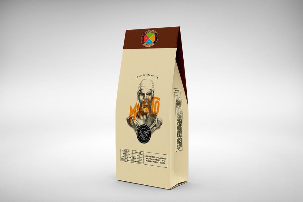 Coffee Packaging Bag Mockup