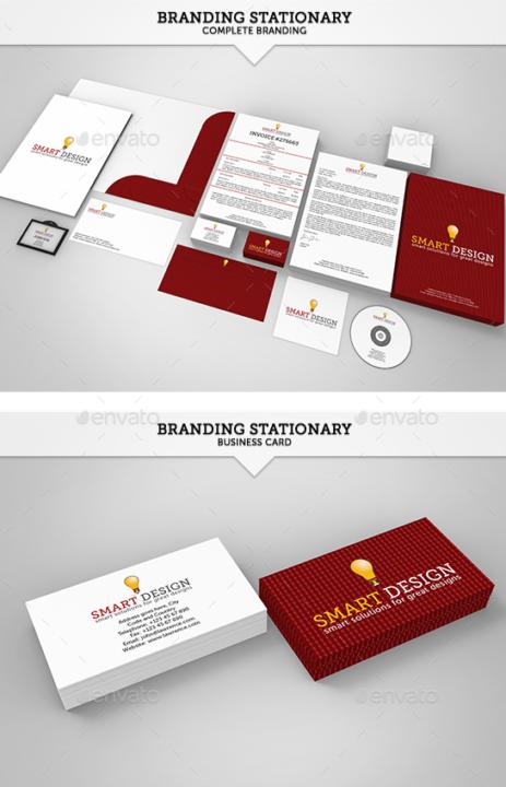 Complete Stationary Branding Mockup