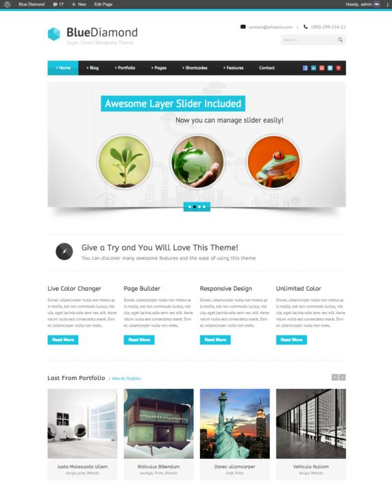 Corporate Responsive WordPress Theme
