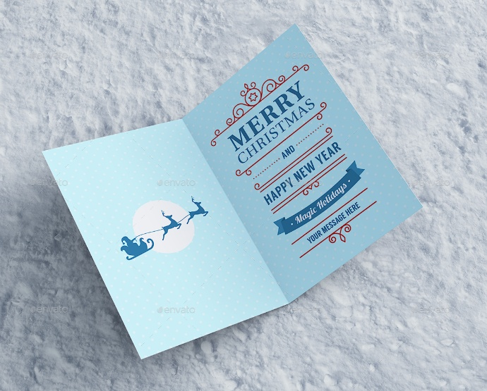 Editable Invitation Card Mockup PSD