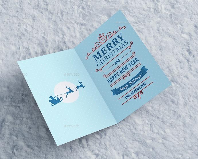 Editable Invitation Card Mockup PSD