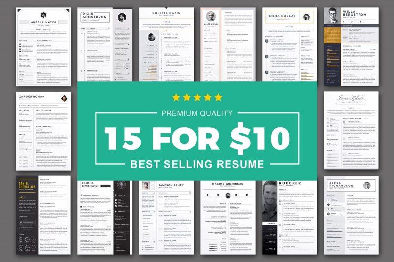 Editable Premium Resume Template