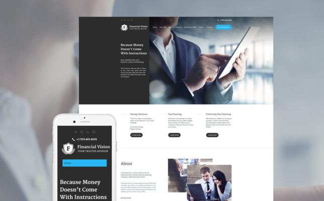 Finsncisl Consultant WordPress Theme