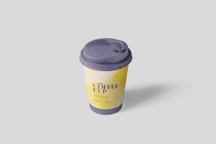 Fully Editable Coffee Cup Mockup