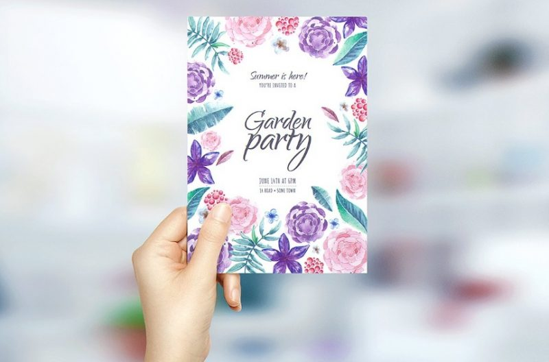 Fully Layered Greeting Card Mockup