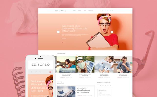 Journalist Blog WordPress Theme