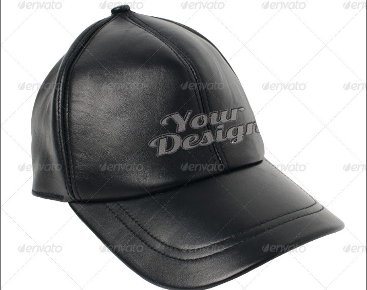 Leather Cap Mockup PSD Template