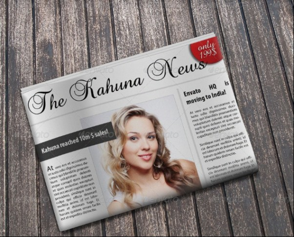 Multipurpose Newspaper Mockup