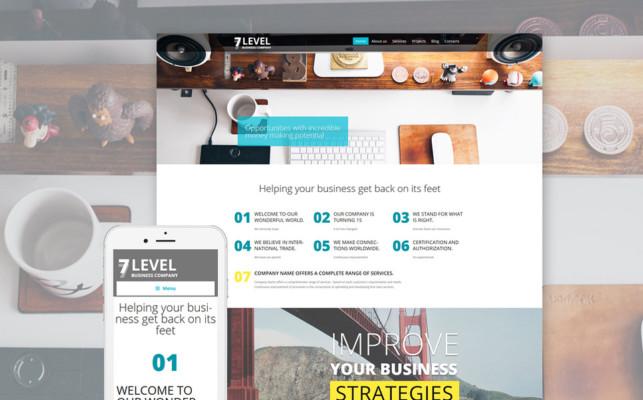 Onepage Business Portfolio Theme