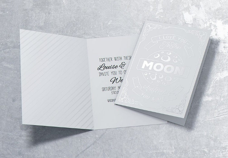 Party Invitation Card Mockup