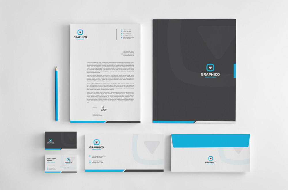 Personalized Stationary Branding Mockup
