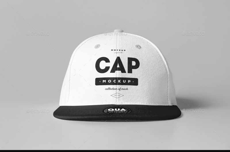 Photo Realistic Cap Mockup PSD