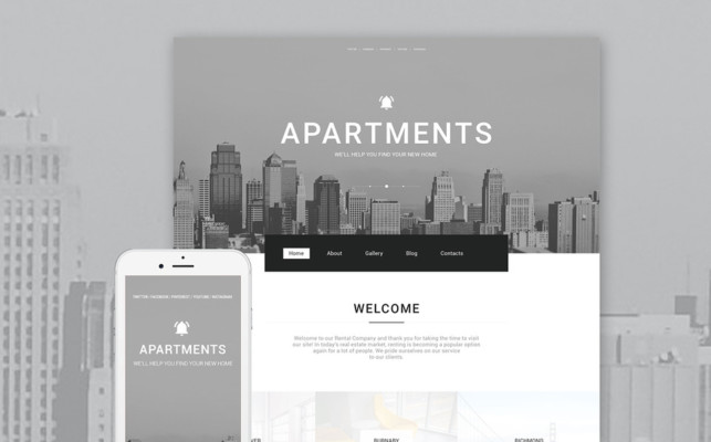 Real Estate Portfolio Theme