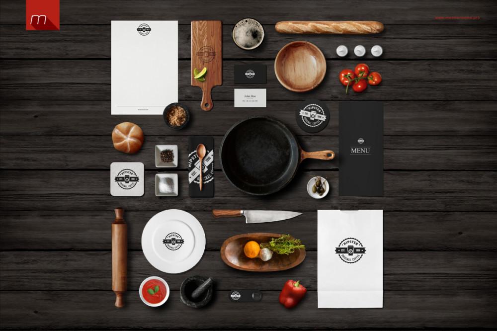 Restaurant Identity Branding Mockup1