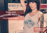 free-t-shirt-mockup-psd-template