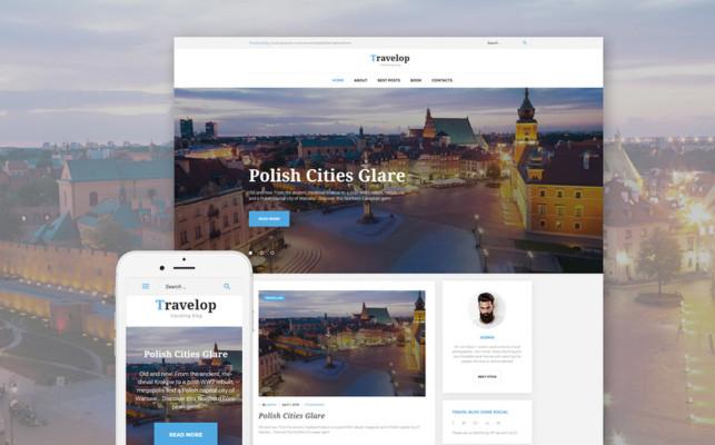 Travel WordPress Blog Theme