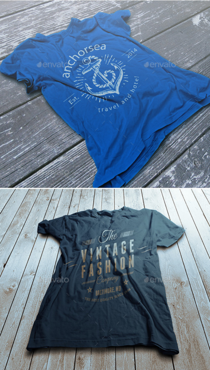 Vintage Apparel Mockup Design