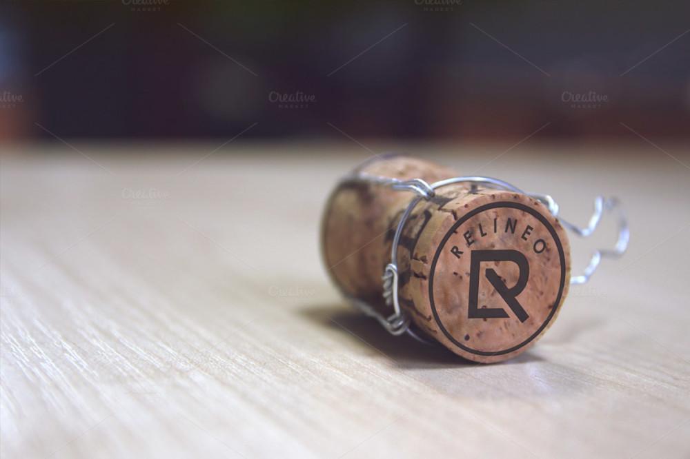 Wine Plug Mockup