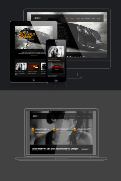 Wordpress Agency Portfolio Theme