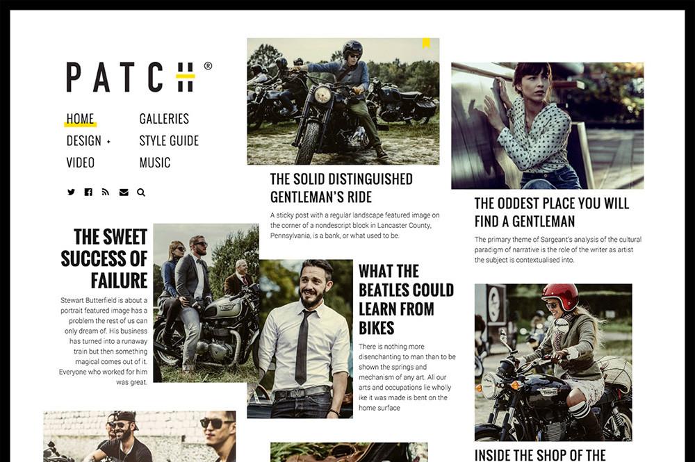 Wordpress Newspaper Inspired Theme
