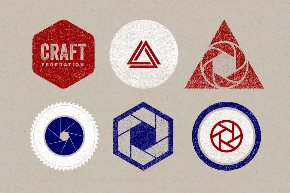 geometric, geometry, circle, hexagon, triangle, badge, logo, crest, shield, icon, motif, print, craft, ink, worn, effects, press, cards, posters, tshirts, merchandise, monogram, symbol, identity, brand, grunge, grain, relief, overlay