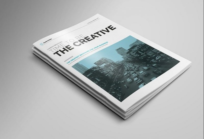 14 Pages Creative Brochure Template