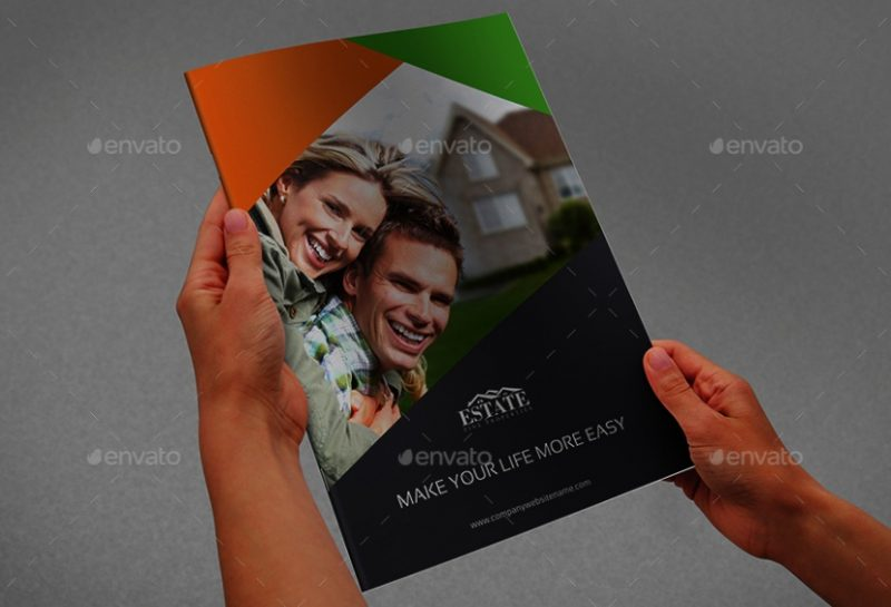 16 Pages Real Estate Brochure Template