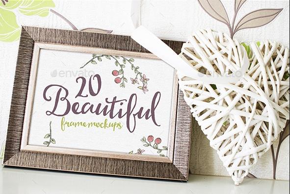 20 Frame Mockup PSD