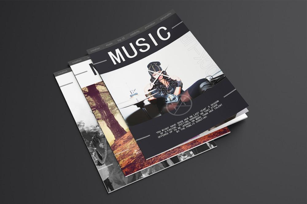 20 Magazine Mockups Pack
