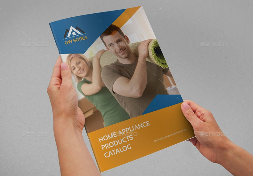 24 Pages Product Brochure Template
