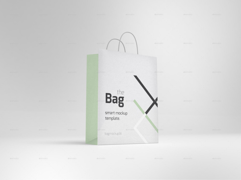 3D Bag Mockup Templates