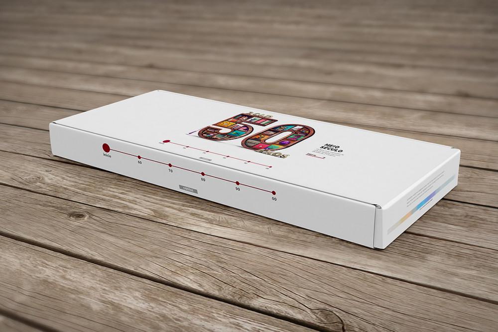 3D Box Mockup PSD
