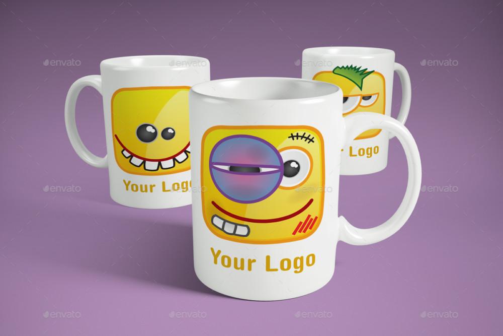 3D Mug Branding Mockup