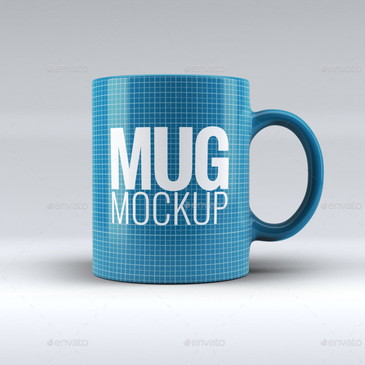 3D Mug Mockup PSD