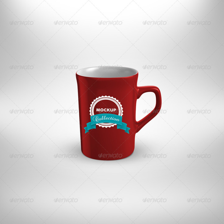 5 Cups Mockup Bundle