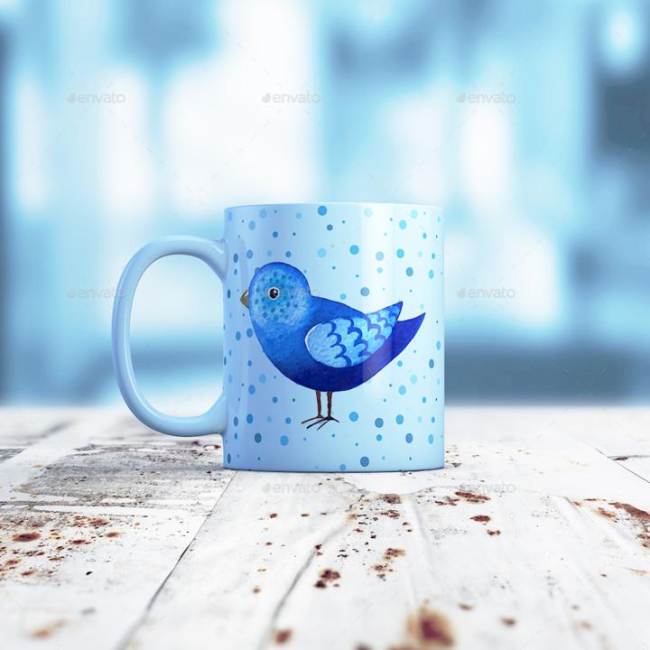 6 PSD Mug Mockup Templates
