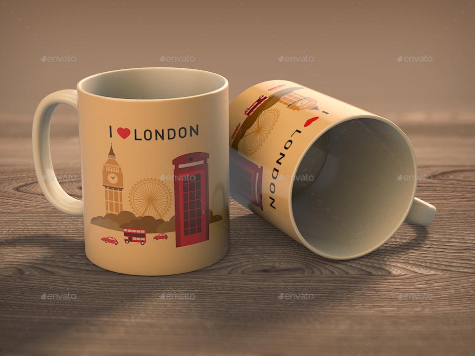 9 Photorealistic Mug Mockup Templates