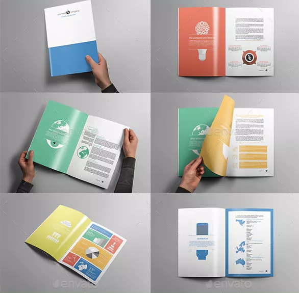 A4 Corporate Brochure Template