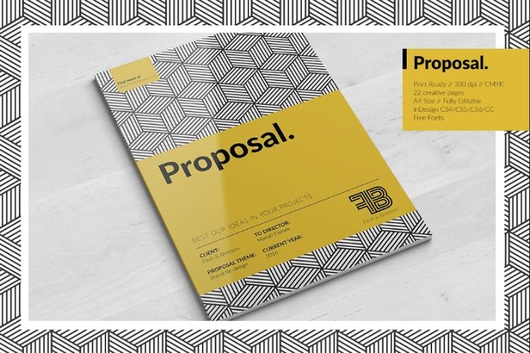 A4 Creative Brochure Template