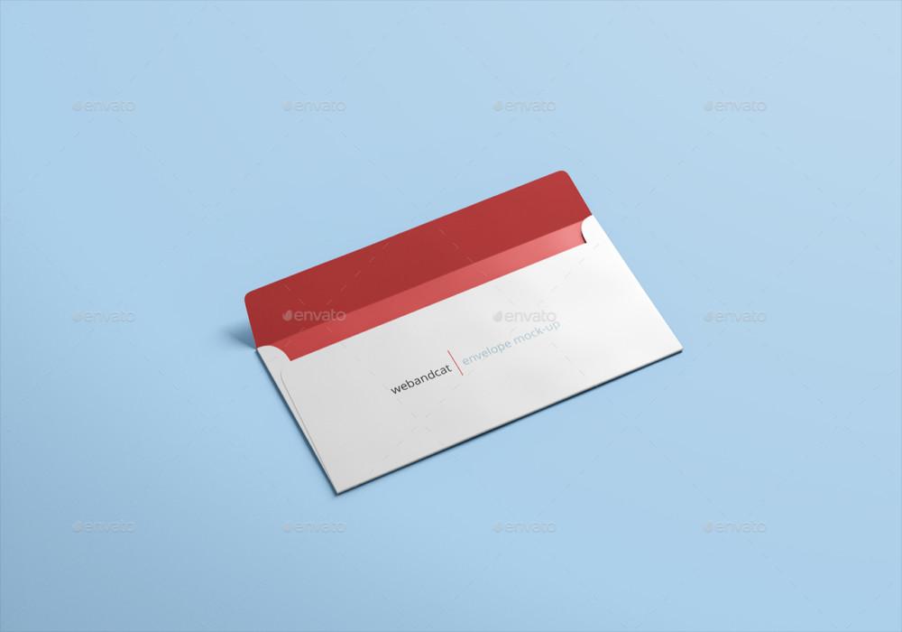 A4 Envelope Mockup PSD Template