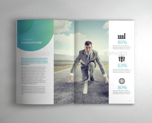 A4 Professional Brochure Template