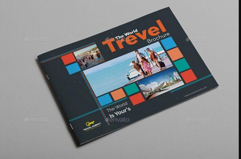 A4 Travel Brochure Template