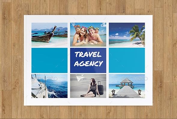 A5 Travel Catalog Template