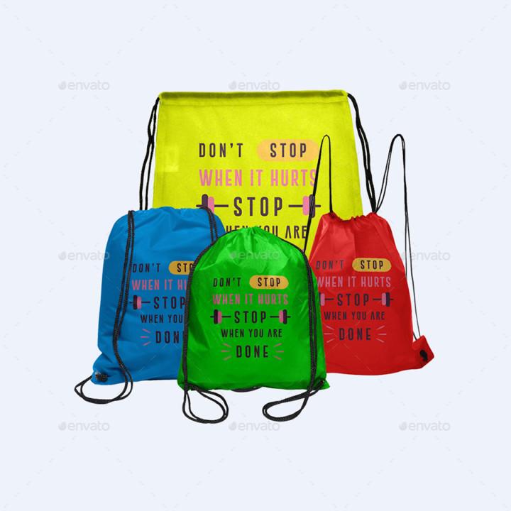 Accessories Bag Mockup