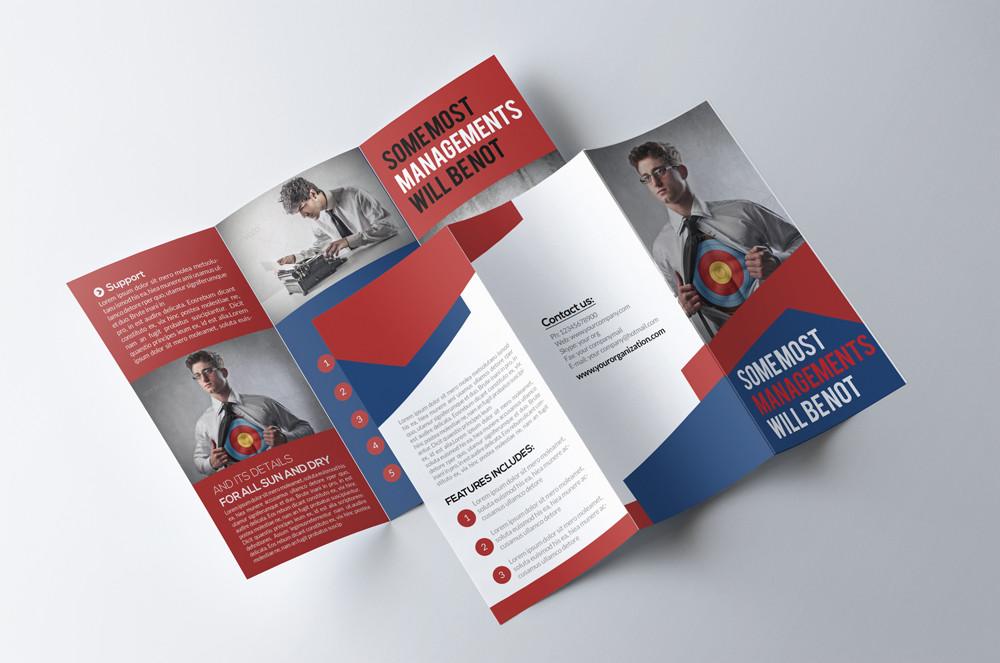 Advertising Agency Brochure Template